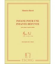 Ravel M. - Pavane Pour Une Infante Defunte - Piano 4 Mains