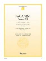 Paganini - Sonata Xii E Minor - Violon and Piano