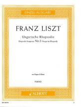 Liszt Franz - Hungarian Rhapsody - Piano