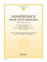 Humperdinck Engelbert - Evening Blessing - Soprano, Mezzo-soprano And Piano
