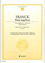 Franck Cesar - Panis Angelicus - 2 Sopranos And Piano