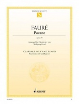 Faure Gabriel - Pavane Op.50 - Clarinette and Piano