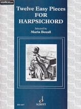 Twelve Easy Pieces - Harpsichord