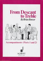 Bonsor B. - From Descant To Treble - Flute A Bec