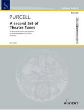 Purcell Henry - A Second Set Of Theatre Tunes - Flute A Bec Soprano and Piano