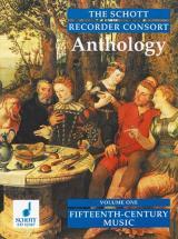 The  Recorder Consort Anthology  Vol.1 - 2-4 Recorders (sa/att/sat/aat/stb/satt/attb/satb)