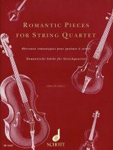 Kember John - Morceaux Romantiques Pour Quatuor  Cordes - String Quartet