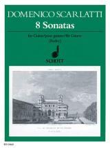 Scarlatti Domenico - 8 Sonatas - Guitar