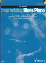 Tim Richards - Improvising Blues Piano + Cd