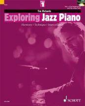 Richards Tim - Exploring Jazz Piano Vol.1 + Cd