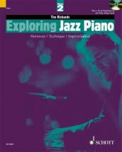 Richards Tim - Exploring Jazz Piano Vol.2 + Cd