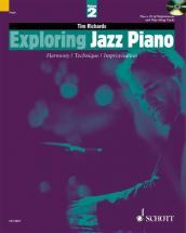 Richards Tim - Exploring Jazz Piano Vol.2 + Cd
