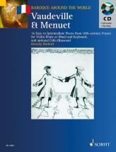 Barlow Jeremy - Vaudeville Et Menuet - Violin And Piano