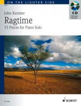 Kember John - Ragtime + Cd - Piano