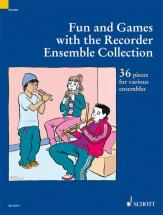 Fun And Games With The Recorder Ensemble Collection - 3-4 Recorders