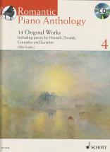 Romantic Piano Anthology Vol.4 + Cd - Piano