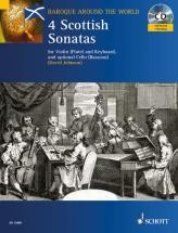 Four Scottish Sonatas - Violin  And Piano; Cello  Ad Lib.
