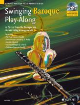 Swinging Baroque Play-along + Cd - Clarinet