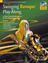 Swinging Baroque Play-along + Cd - Alto Saxophone
