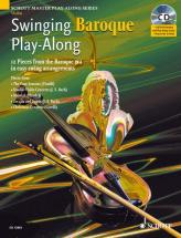 Swinging Baroque Play-along + Cd - Violin