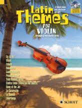Latin Themes For Violin + Cd - Violin