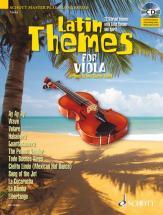 Latin Themes For Viola + Cd - Viola