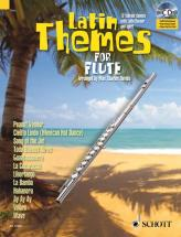 Latin Themes For Flute + Cd - Flute