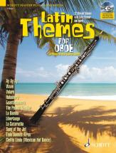 Latin Themes For Oboe + Cd - Oboe