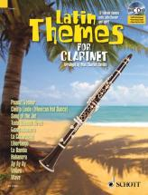Latin Themes For Clarinet + Cd - Clarinet