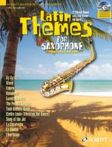 Latin Themes For Alto Saxophone + Cd - Alto Saxophone