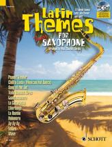 Latin Themes For Tenor Saxophone + Cd - Tenor Saxophone