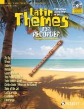 Latin Themes For Alto Recorder - Treble Recorder