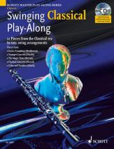 Swinging Classical Play-along + Cd - Clarinet; Piano Ad Lib.