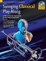 Swinging Classical Play-along + Cd - Trumpet; Piano Ad Lib.