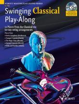 Swinging Classical Play-along + Cd - Violin; Piano Ad Lib.