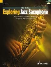 Weston Ollie - Exploring Jazz Saxophone + Cd - Alto Saxophone