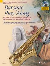 Baroque Play-along - Alto Saxophone