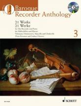 Bowman P./ Heyens G. - Baroque Recorder Anthology Vol.3 + Cd