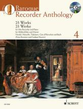 Bowman P./ Heyens G. - Baroque Recorder Anthology Vol.4 + Cd