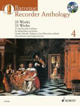 Bowman P./ Heyens G. - Baroque Recorder Anthology Vol.4 + Cd