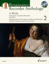 Bennetts Kathryn / Bowman Peter - Renaissance Recorder Anthology Vol. 2 - Descant Recorder And Piano