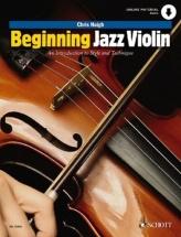 Haigh Chris - Beginning Jazz Violin