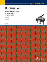 Burgmueller Friedrich - 25 Studies Op. 100 - Piano