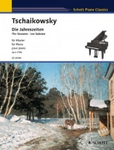 Tchaikovsky Peter Iljitsch - The Seasons Op. 37bis - Piano