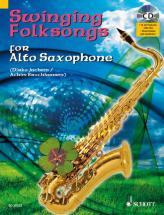 Swinging Folksongs For Alto Saxophone - Alto Saxophone