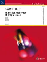 Gariboldi G.- 15 Etudes Modernes Et Progressives- Flute