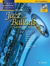 Jazz Ballads + Cd - Alto Saxophone