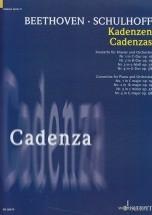 Beethoven L.v. - Cadenzas - Piano
