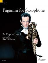 Paganini Niccolò - Paganini For Saxophone Op. 1 - Soprano- Or Altosaxophone Solo