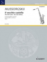 Moussorgsky M. - The Old Castle From Pictures Of An Exhibition - Saxophone Alto and Piano